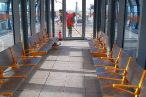 Darke Steel - DLR seating