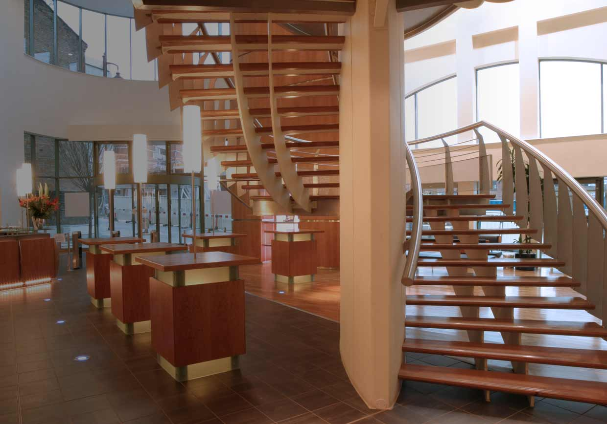 Staircase and balcony metal fabrication
