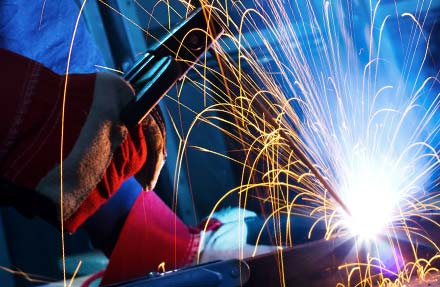 Welding services from Darke Steel