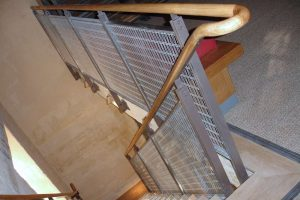 Darke Steel - staircase and balustrade